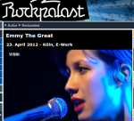 Emmy the great im Rockpalast